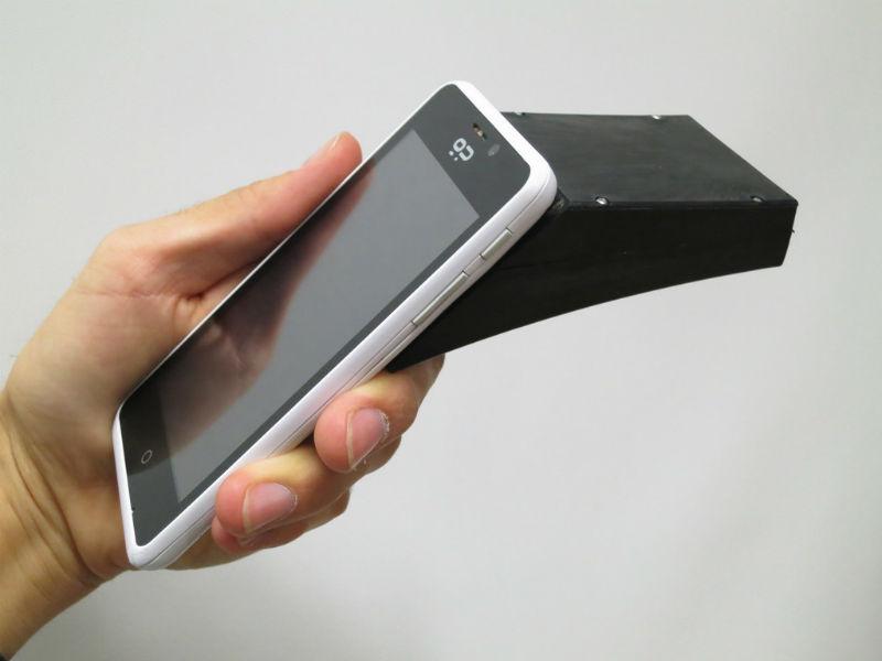 mobile camera spectrometer tecake