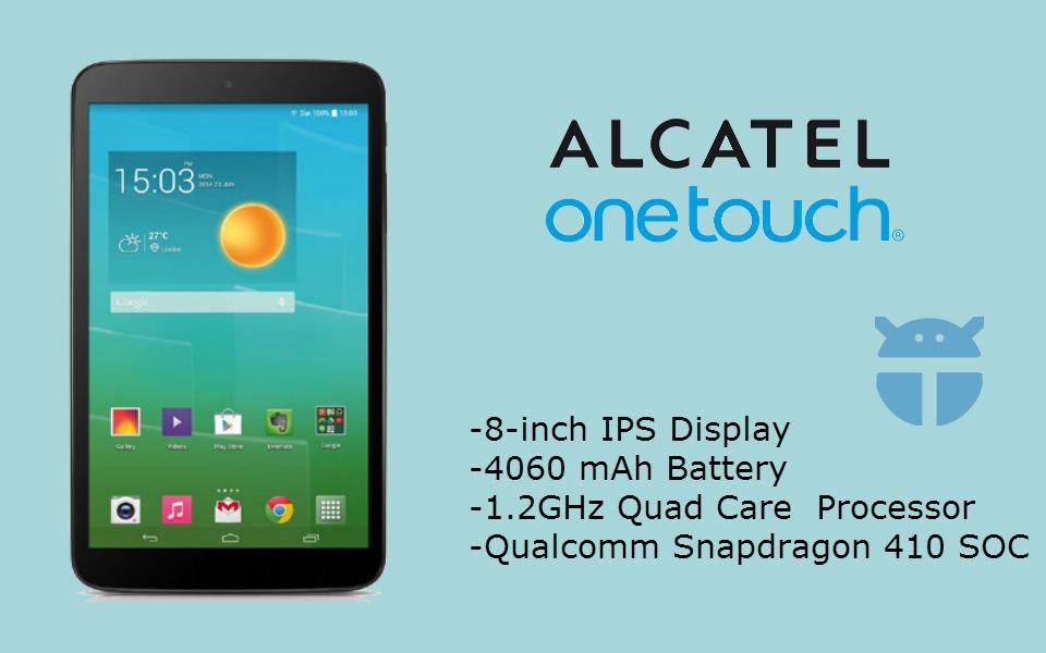 Alcatel OneTouch POP 86 - The TeCake