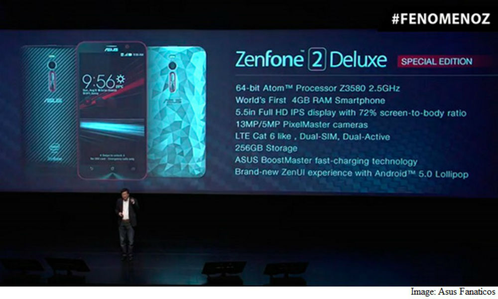 Asus Zenfone 2 Deluxe Special Edition - The TeCake