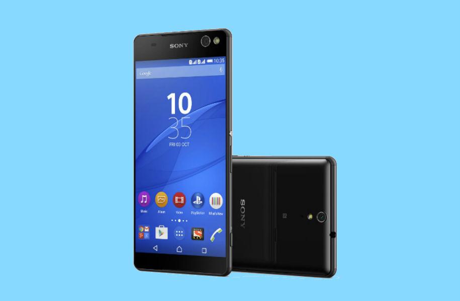 Sony Xperia C5 Ultra -The TeCake