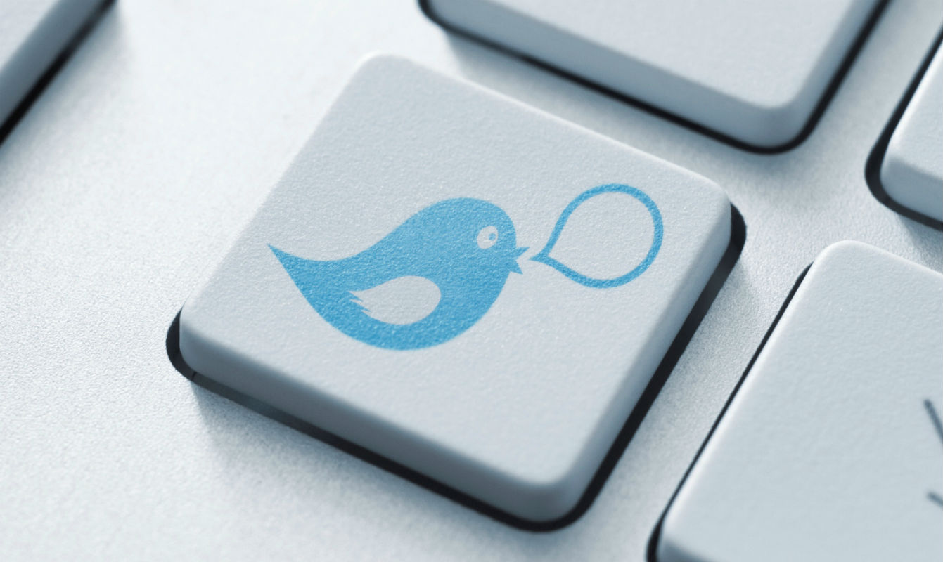Twitter Direct Message Button - The TeCake