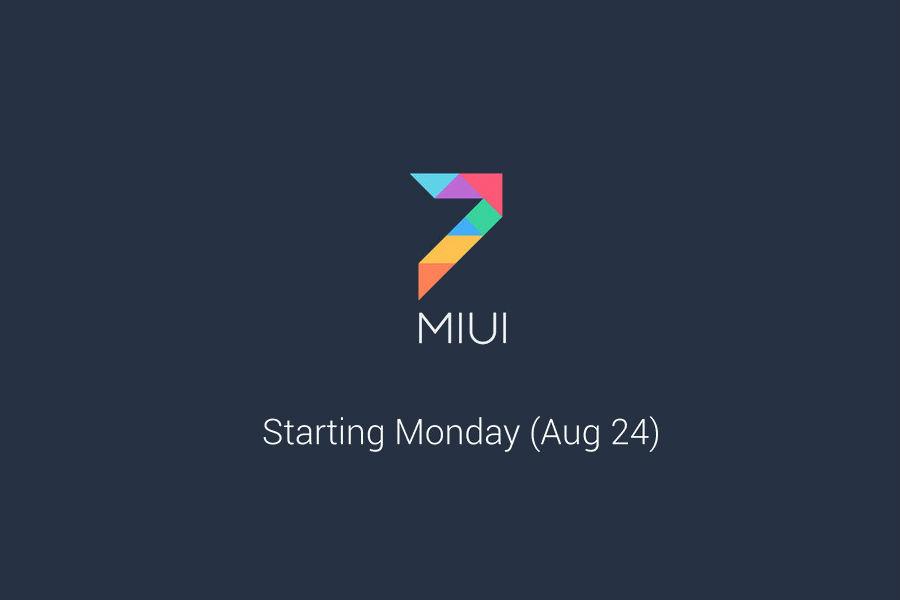 Xiaomi MIUI 7 - The TeCake
