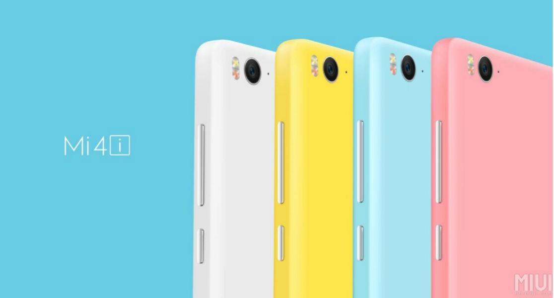 Xiaomi Mi4i in colors - The TeCake