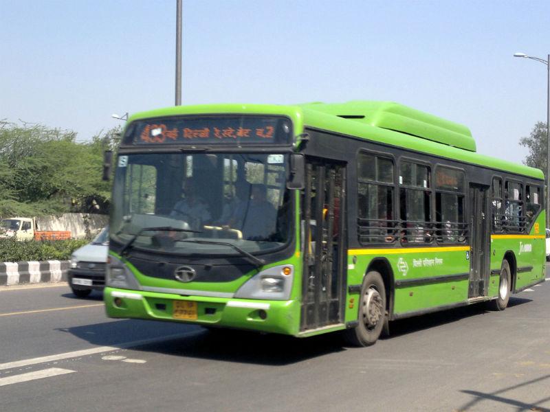 CSIR: CNG bus emit