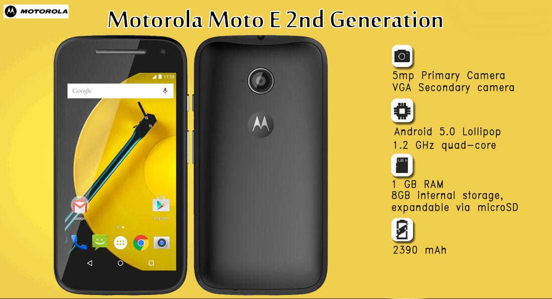 Moto E 2 - The TeCake