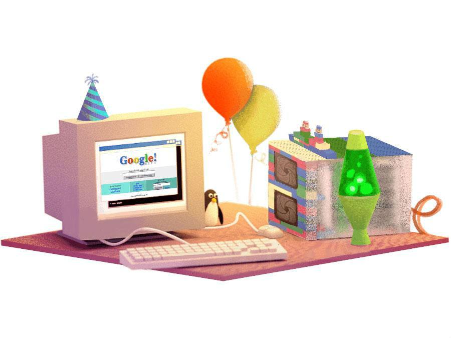 Google marks 17th birthday, Doodle goes retro!