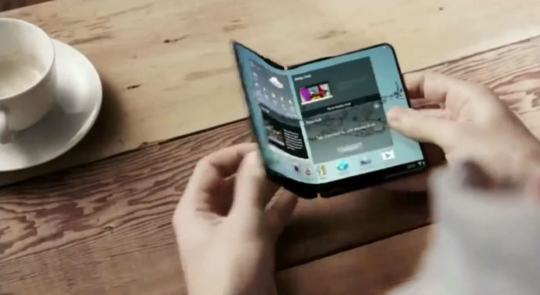 Samsung to launch smartphone with foldable screen next year!