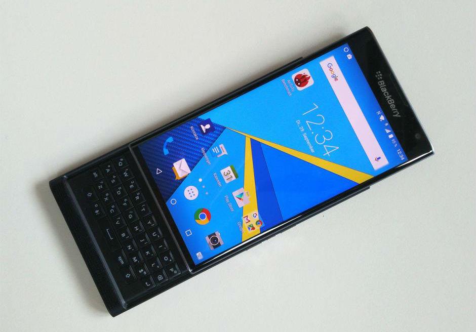 BlackBerry Priv -The TeCake