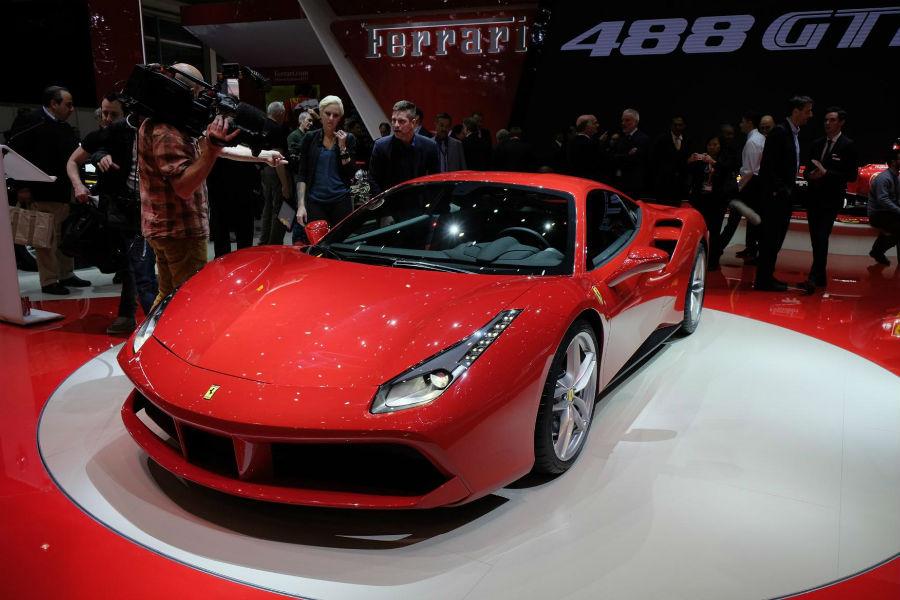 Ferrari Car - The TeCake