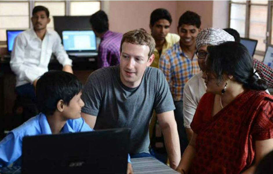 Mark Zukerberg India - The TeCake