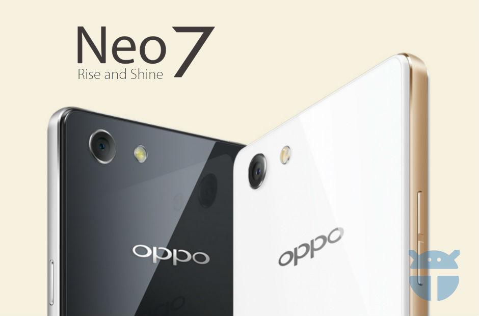 Oppo Neo 7 - The TeCake