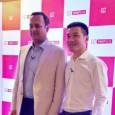 Vikas Agarwal with Pete Lau OnePlus - The TeCake