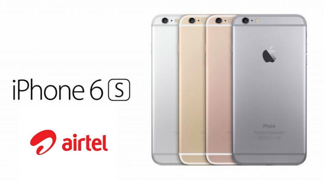 iPhone 6s Airtel - The TeCake