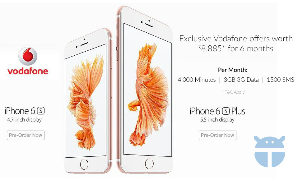 iPhone 6s and iPhone 6s Plus Vodafone- The TeCake