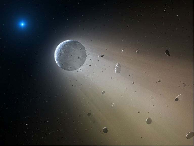 NASA's Kepler shows white dwarf ripping a small planet