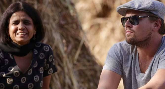 Leonardo DiCaprio visits a village in Haryana, Here's Why