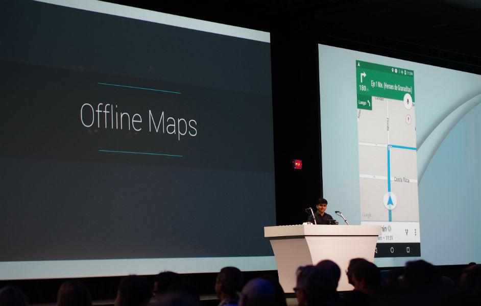 Offline Maps Google I/0 2015 - The TeCake