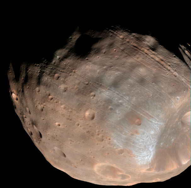 Mars largest moon Phobos will die forming a ring-like struture