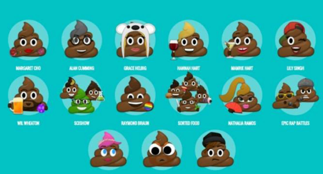 #GiveAShit: New poop emojis to create awareness for sanitized toilets
