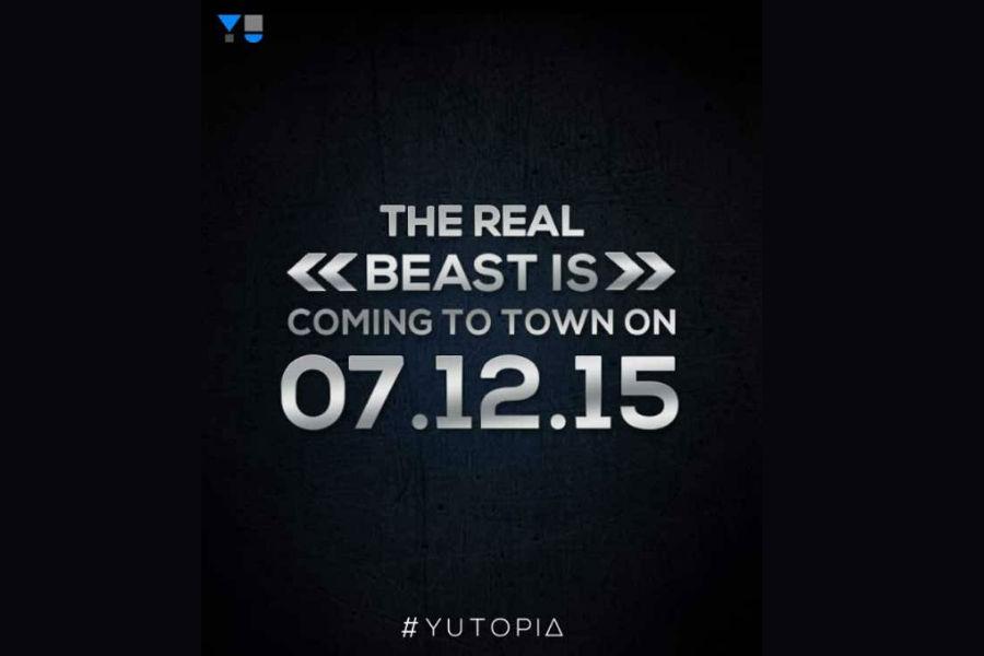 Invite for Yu Yutopia launching on December 7 - The TeCake