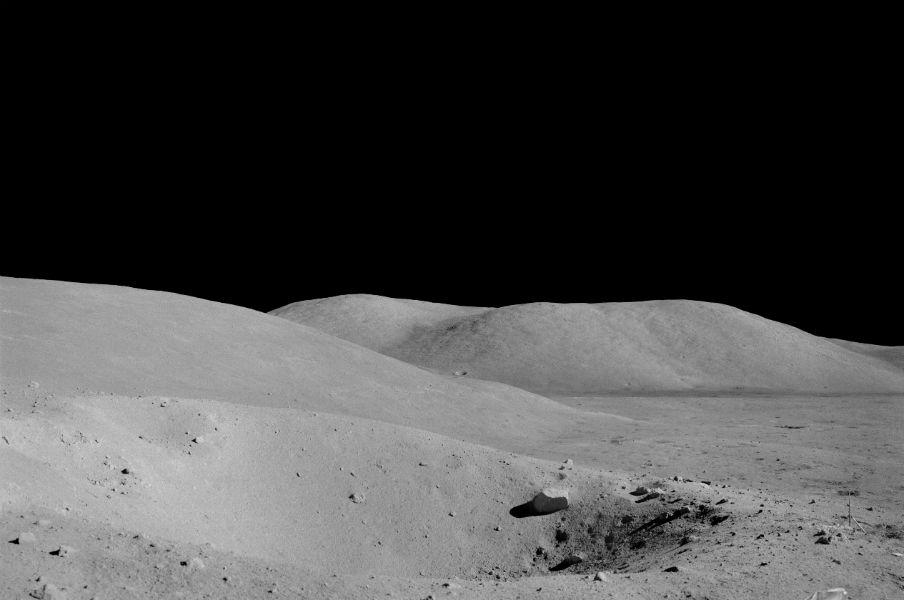 Moon surface - The TeCake