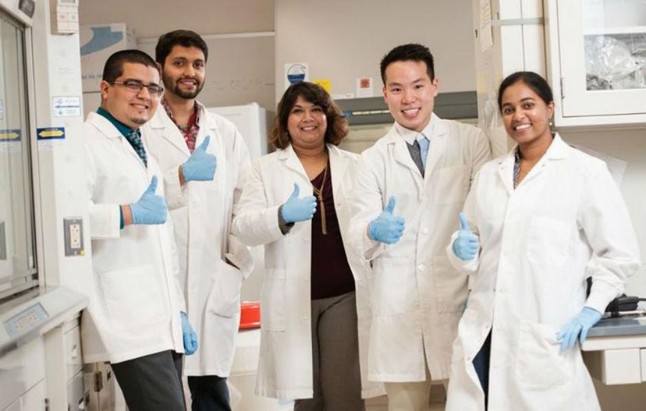 Texas AM Professor Mahua Choudhury and team - The TeCake
