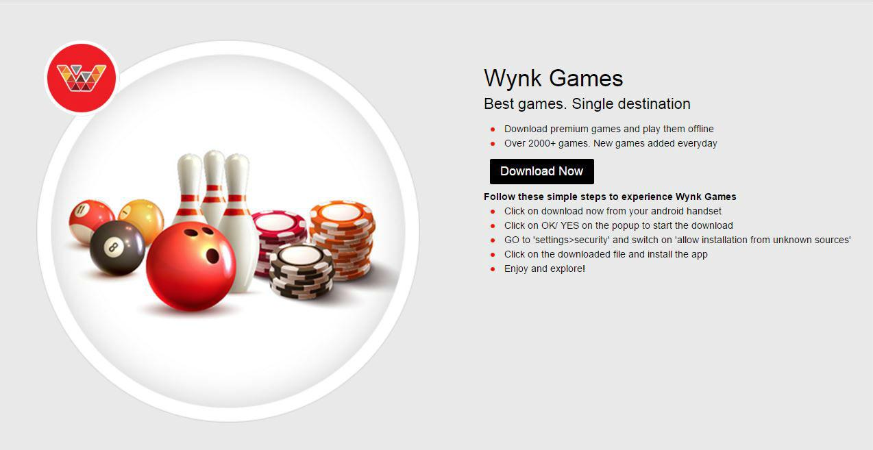 Wynk Games - The TeCake