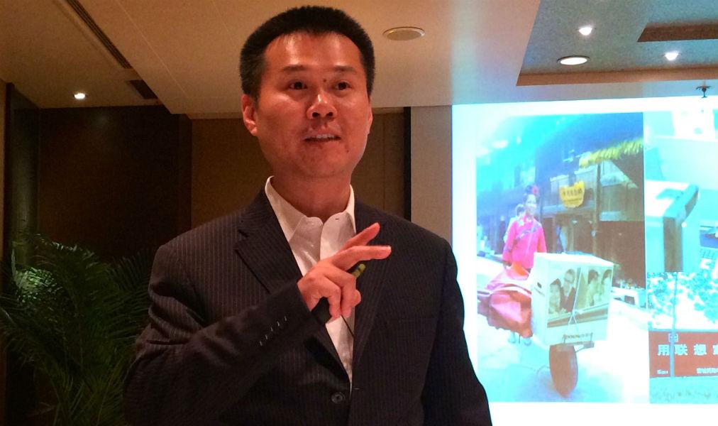 Senior VP of Lenovo group, Chen Xudong
