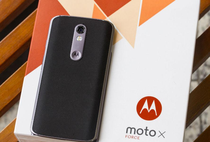 Moto X Force smartphone - The TeCake
