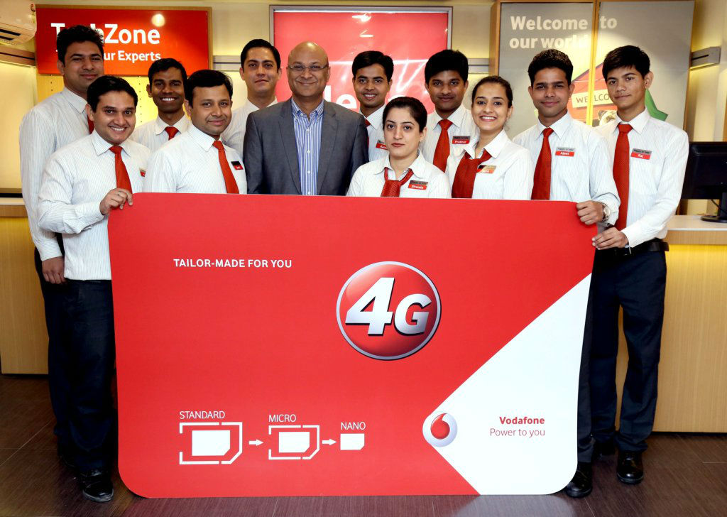 Vodafone launches 4G sim in Delhi NCR - The TeCake