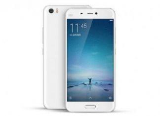 Xiaomi Mi5 in White