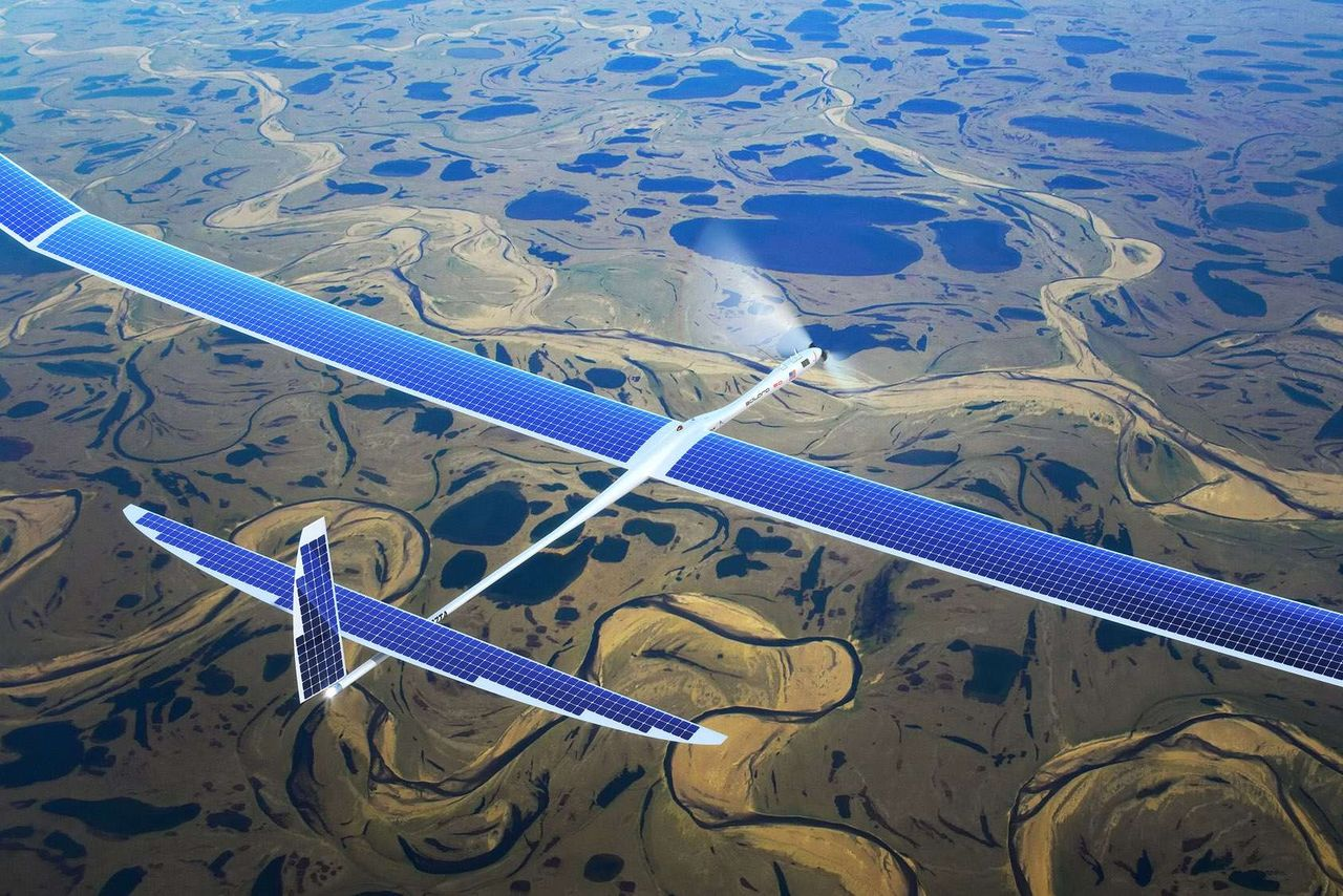 Google conducting experiments on solar-powered drones for 5G Internet