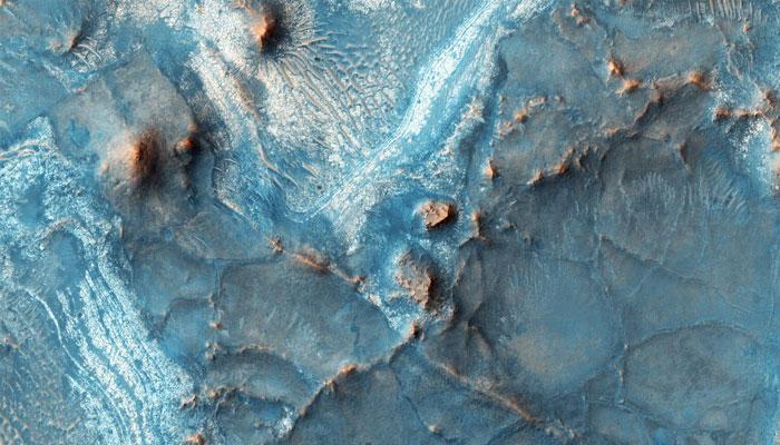 NASA: Watch this stunning colorful image of Nili Fossae on Mars
