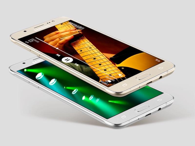 Galaxy J5 and Galaxy J7 smartphones