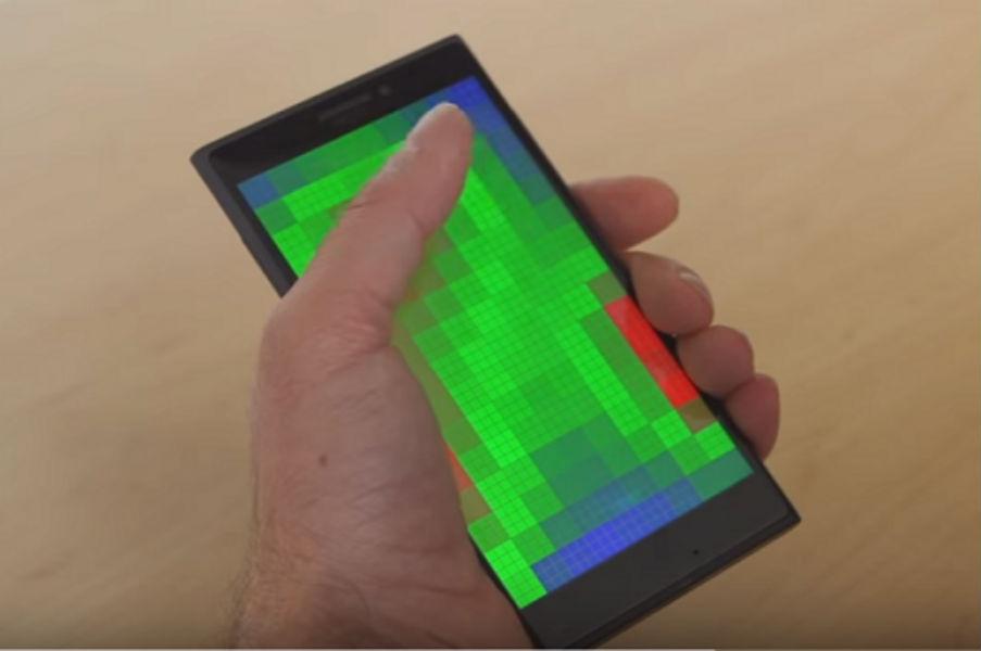 Microsoft Pre-Touch Sensing Technology