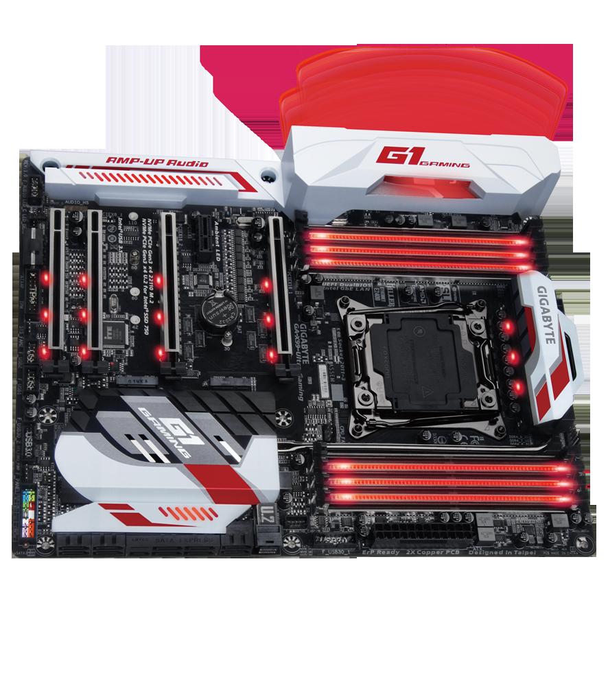 Gaming, gaming motherboard, Gigabyte, Gigabyte GA-X99-Ultra Gaming, Motherboard