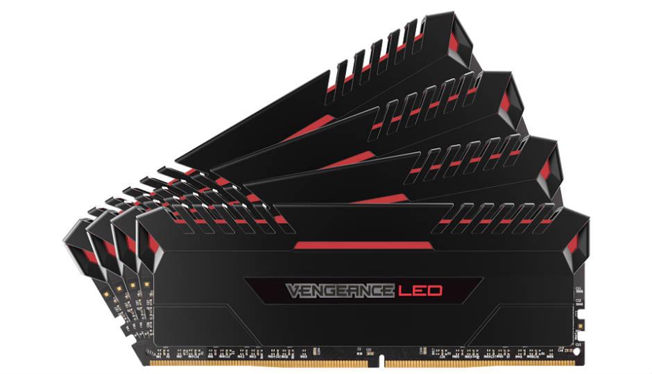 Corsair Vengence LED series of DDR4 memory