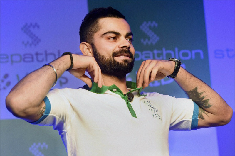 Virat Kohli launched Stephatlon Kids for promoting healthy lifestyle