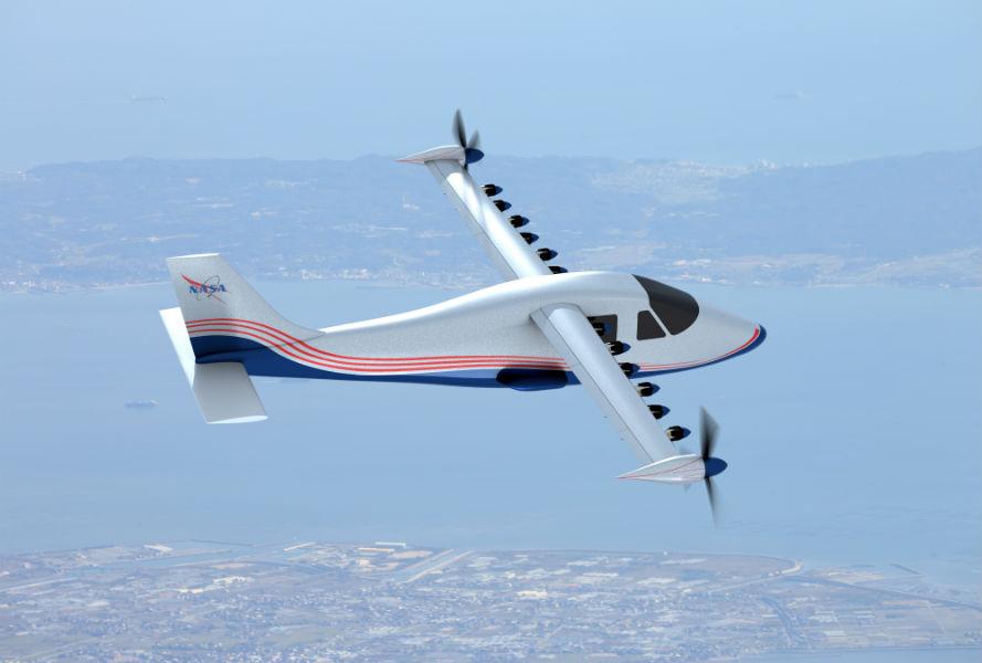 NASA developing new hybrid plane X-57 'Maxwell' that runs on batteries