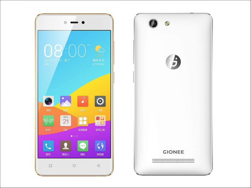 Gionee F103 Pro launched