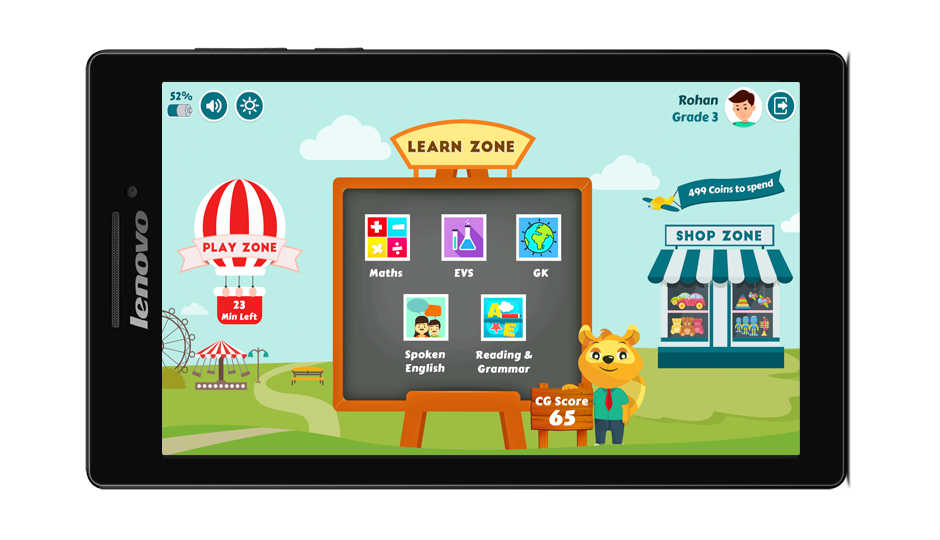 Lenovo CG Slate tablet