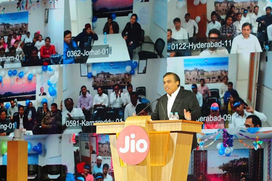 Reliance JIO Mukesh
