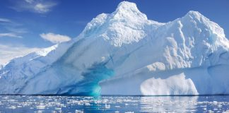 Antarctica, Ice