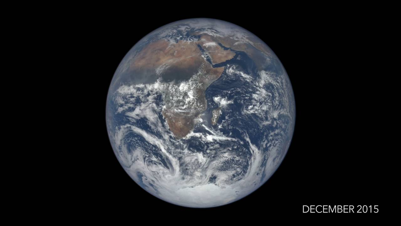 Watch the stunning video as NASA captures entire on Earth seen from million miles