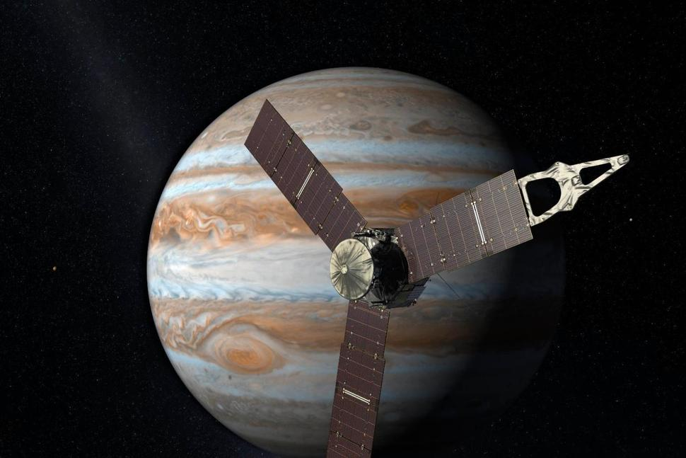 Juno reached the farthest point of Jupiter's orbit today