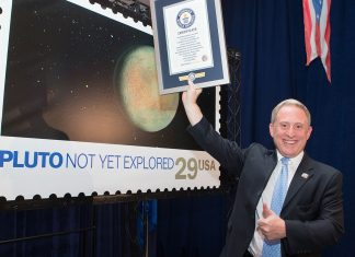 See Pic: NASA sets world record by sending Pluto Stamp on New Horizons