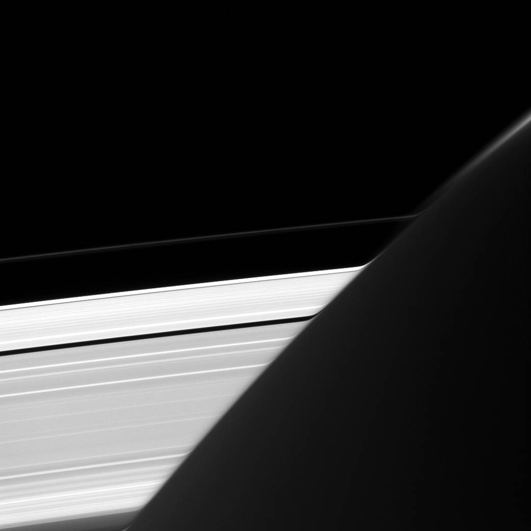 See Pic: Saturn's rings appear bent in a shot taken by Cassini
