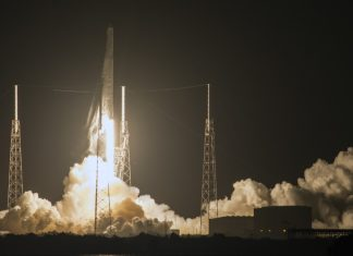 Space X launches docking port into orbit once again