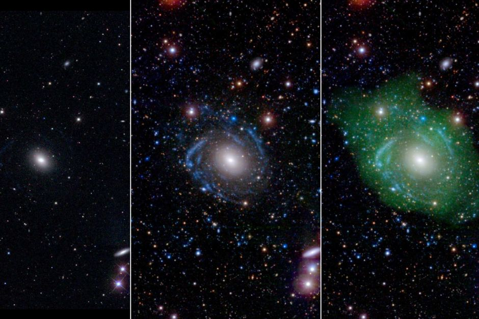Astronomers discover rare Frankenstein galaxy that formed from parts of other galaxies