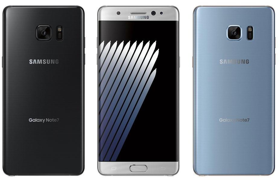 Galaxy Note 7 smartphone